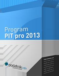 Program PIT pro 2013